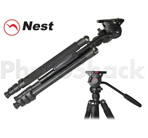 Nest 1.5m Aluminium Video Tripod